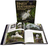 Finely Feathered, Marsh and lagoon birds of the lowcountry field guide book David Lynch and Starbooks