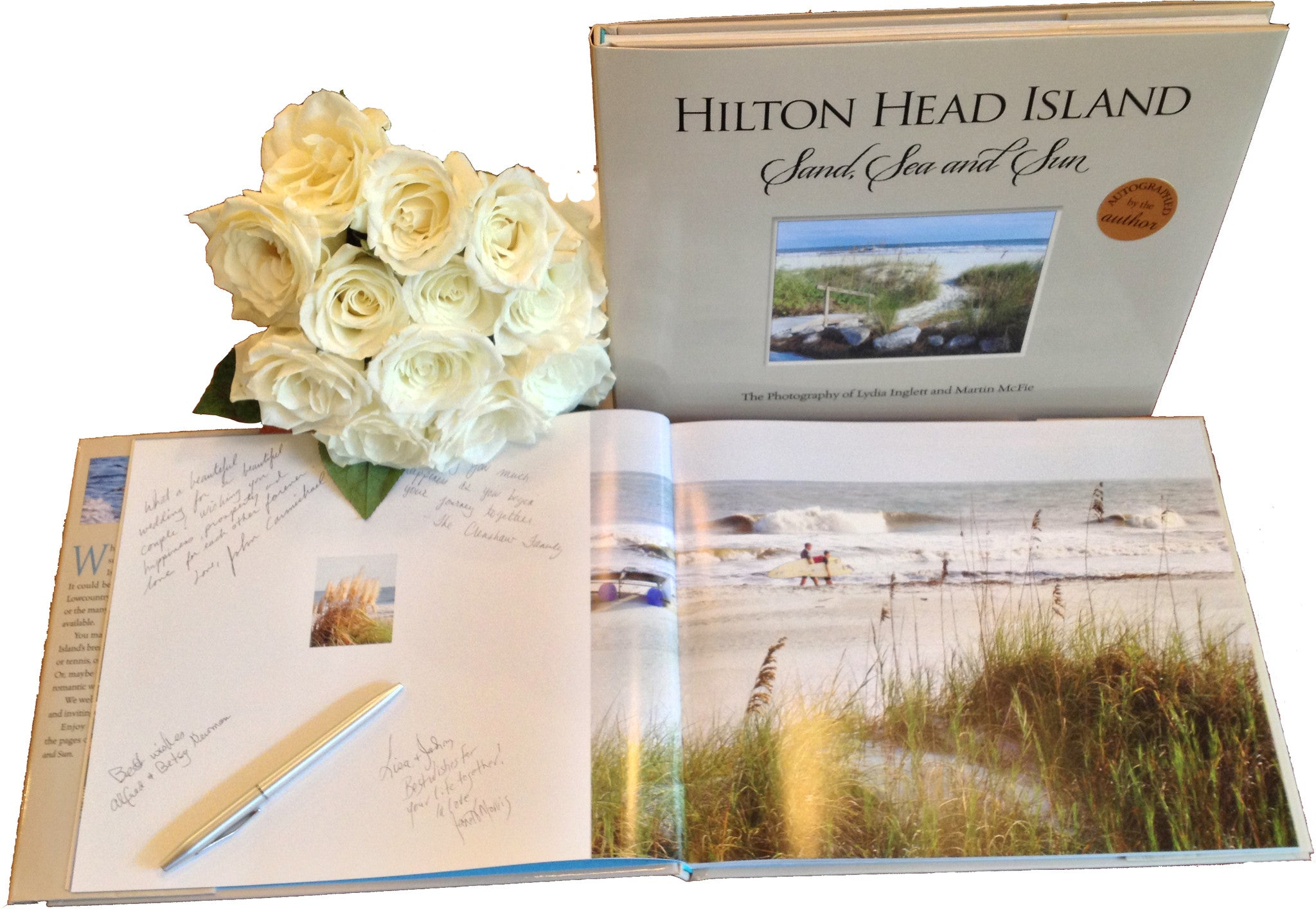 Great wedding signing book: Hilton Head Island, Sand, Sea and Sun Lydia Inglett and Starbooks