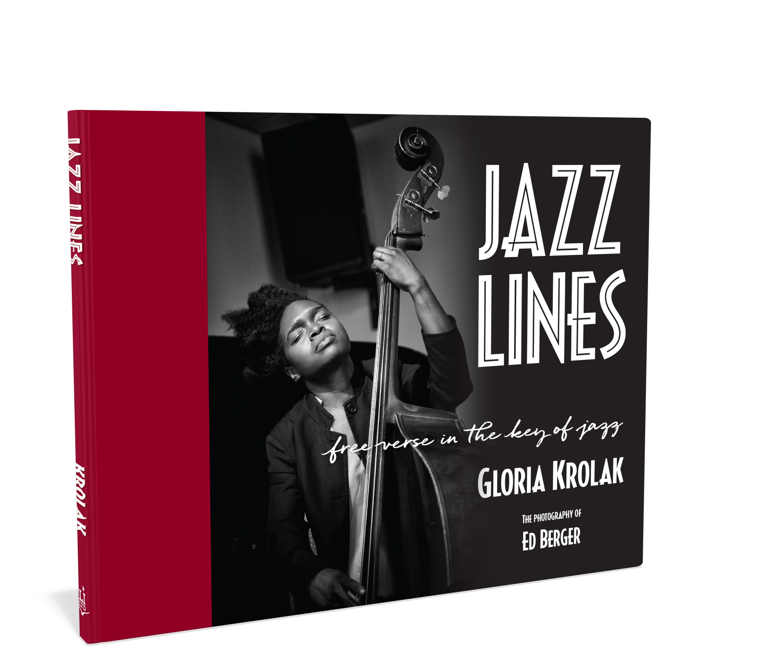 Cover: Jazz Lines photography and poetry by Gloria Krolak Starbooks