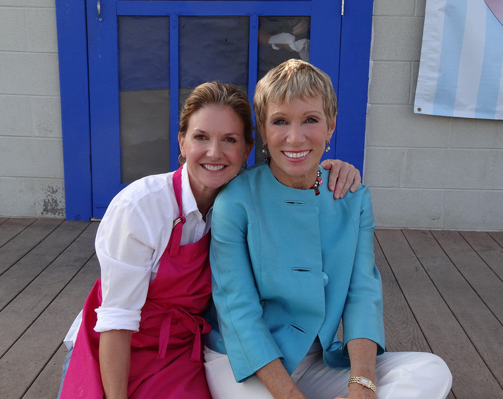 Kim Daisy Nelson and Barbara Corcoran Shark Tank experience in Daisy Cakes Cookbook Starbooks