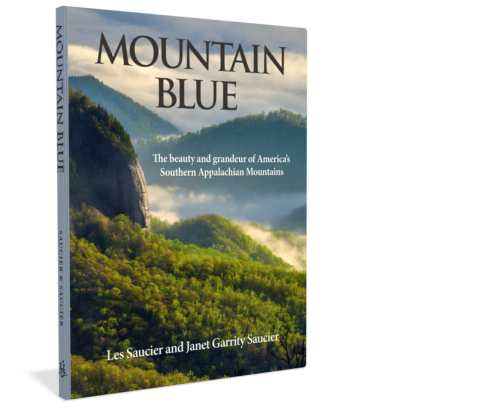 Cover: Mountain Blue the beauty and grandeur of America's Souther Appalachian MountainsLes Saucier and Janet Garrity Saucier Starbooks