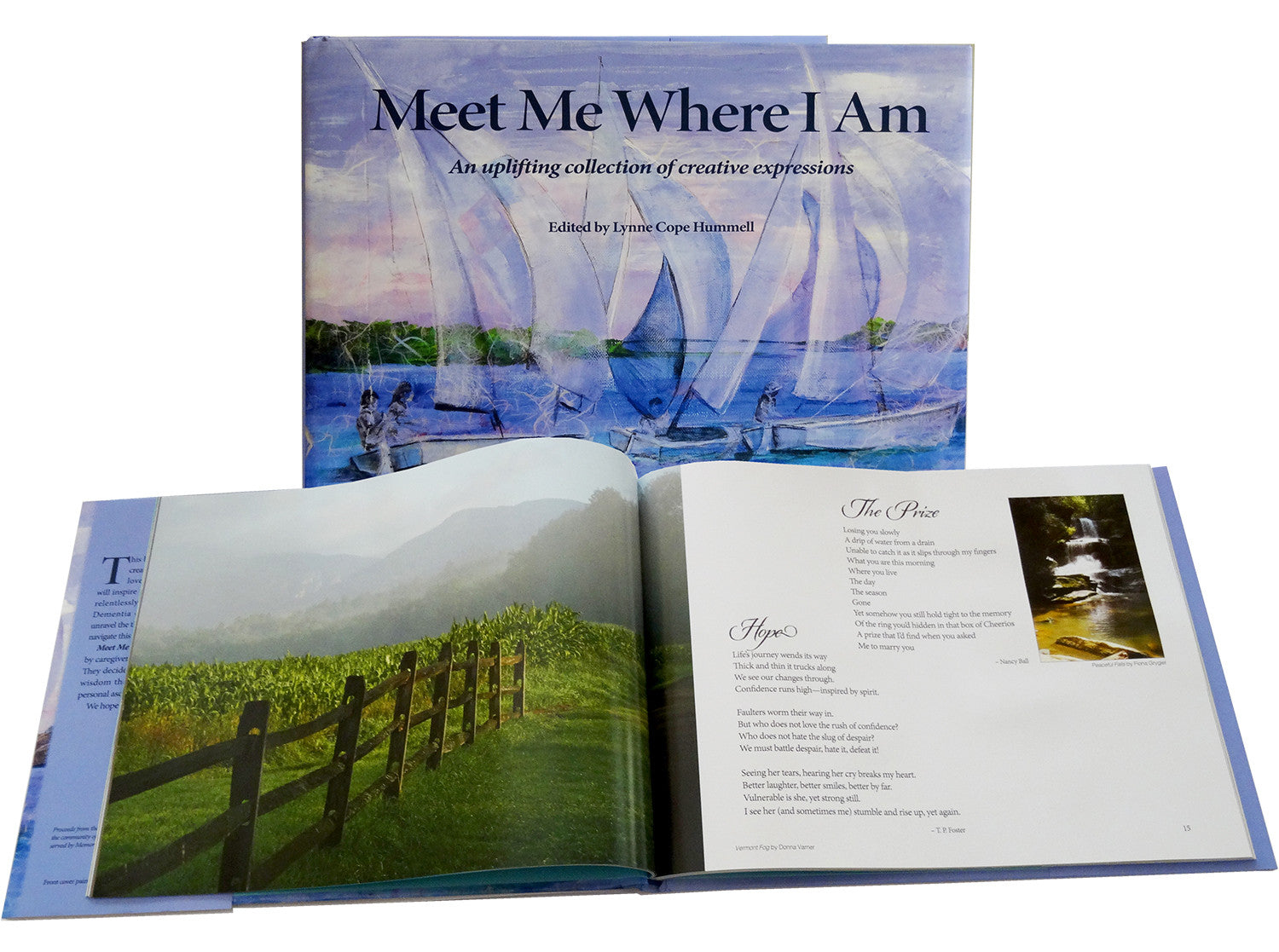 Meet Me Where I Am Book: Uplifting collection of creative expressions. Fundraiser for Memory Matters Hilton Head Island