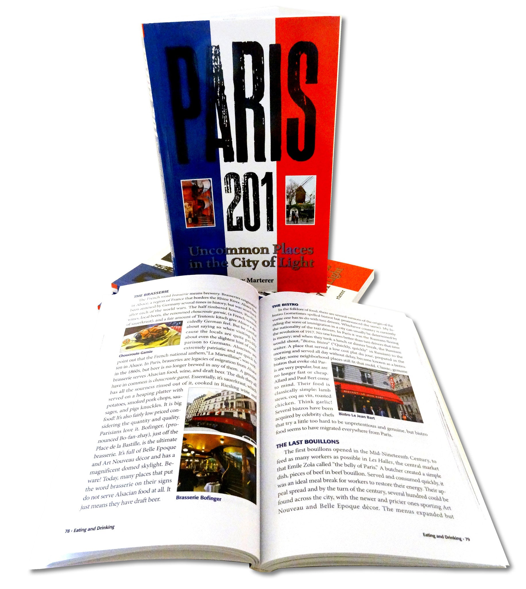 Paris 201: Uncommon Places in the City of Light book by Jerry Marterer Starbooks