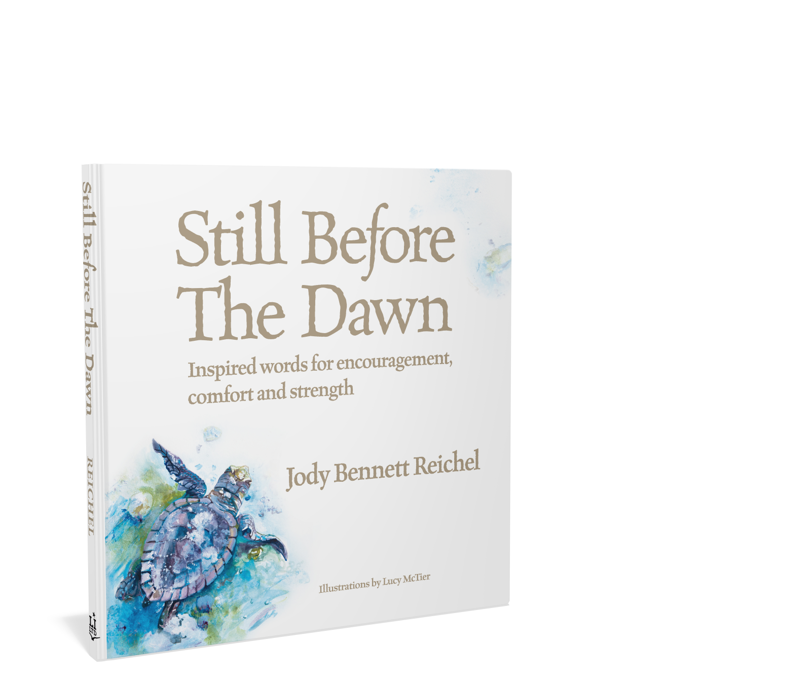 Still Before the Dawn, Inspirational book. Beautiful coastal watercolors throughout. Jody Reichel and Starbooks