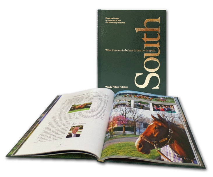 Essay by Bill Thomason, Keeneland. In South, What it means to be here in heart or in spirit book. Lydia Inglett Publishing