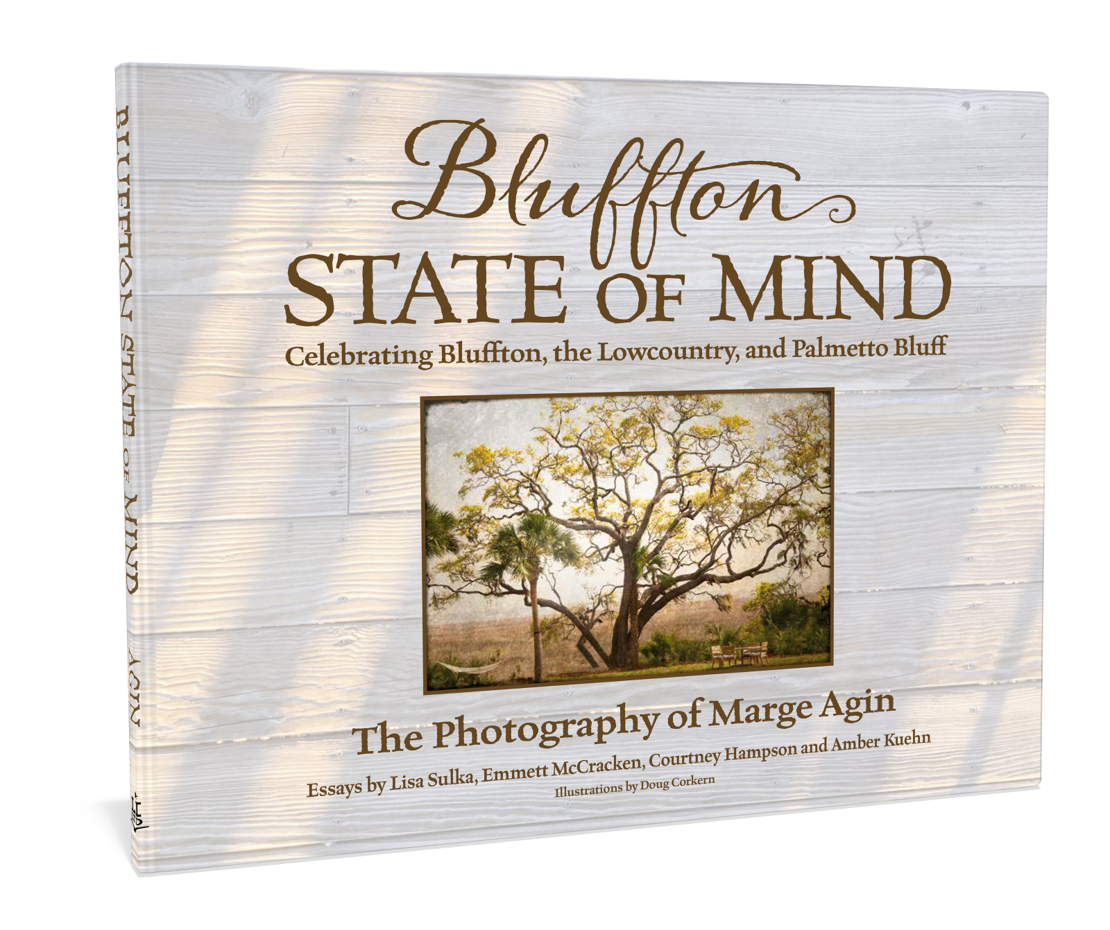 Bluffton State of Mind coffee table gift book Author Marge Agin Photopgrahy Bluffton, Palmetto Bluff and Lowcountry