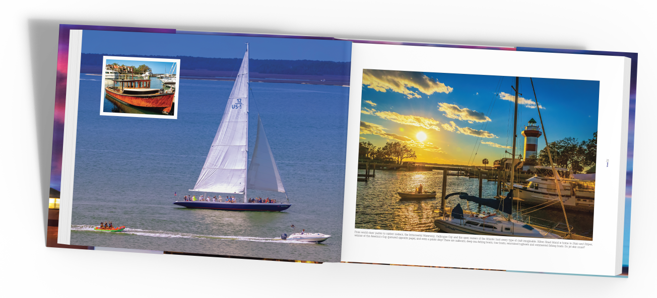 Sailboat photograph, Vivid living life in full color photography gift book author jeffery keefer publisher lydia inglett Starbooks