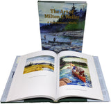 The Art of Milton C Weiler book. Paintings, sketches and about his life. Author John T Orderman