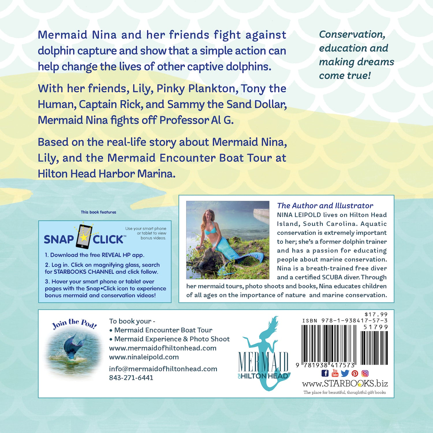 Cover: The Mermaid's Friends by Nina Leipold with Augmented Reality Starbooks
