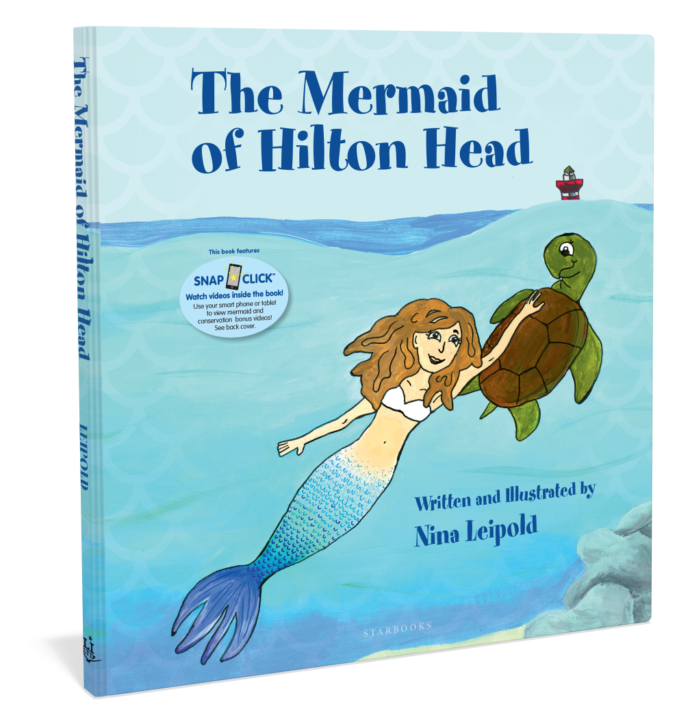 Cover: The Mermaid of Hilton Head by Nina Leipold with Augmented Reality Starbooks