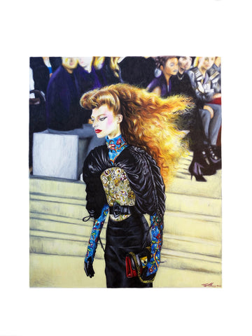 Louis Vuitton cruise 2020 fashion illustration Pippa mcmanus