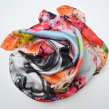 Hothouse Flowers Silk Scarf