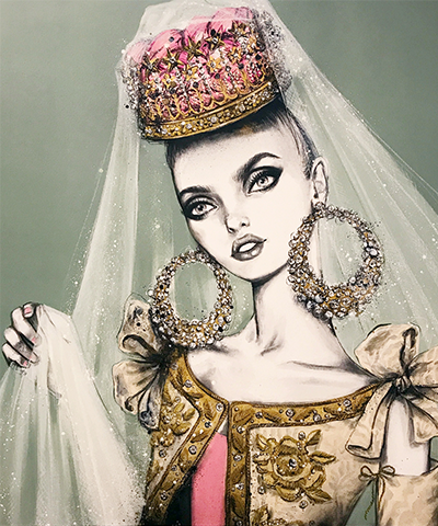 Lacroix's Bride Original Artwork
