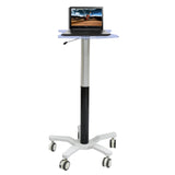 Gas Spring Based Laptop Cart (GSL-01)  - 1
