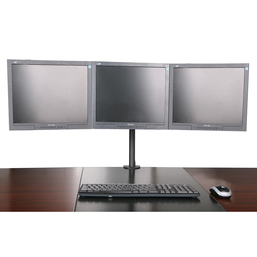 Triple Monitor Stand - Clamp Type (3MS-CT)  - 1