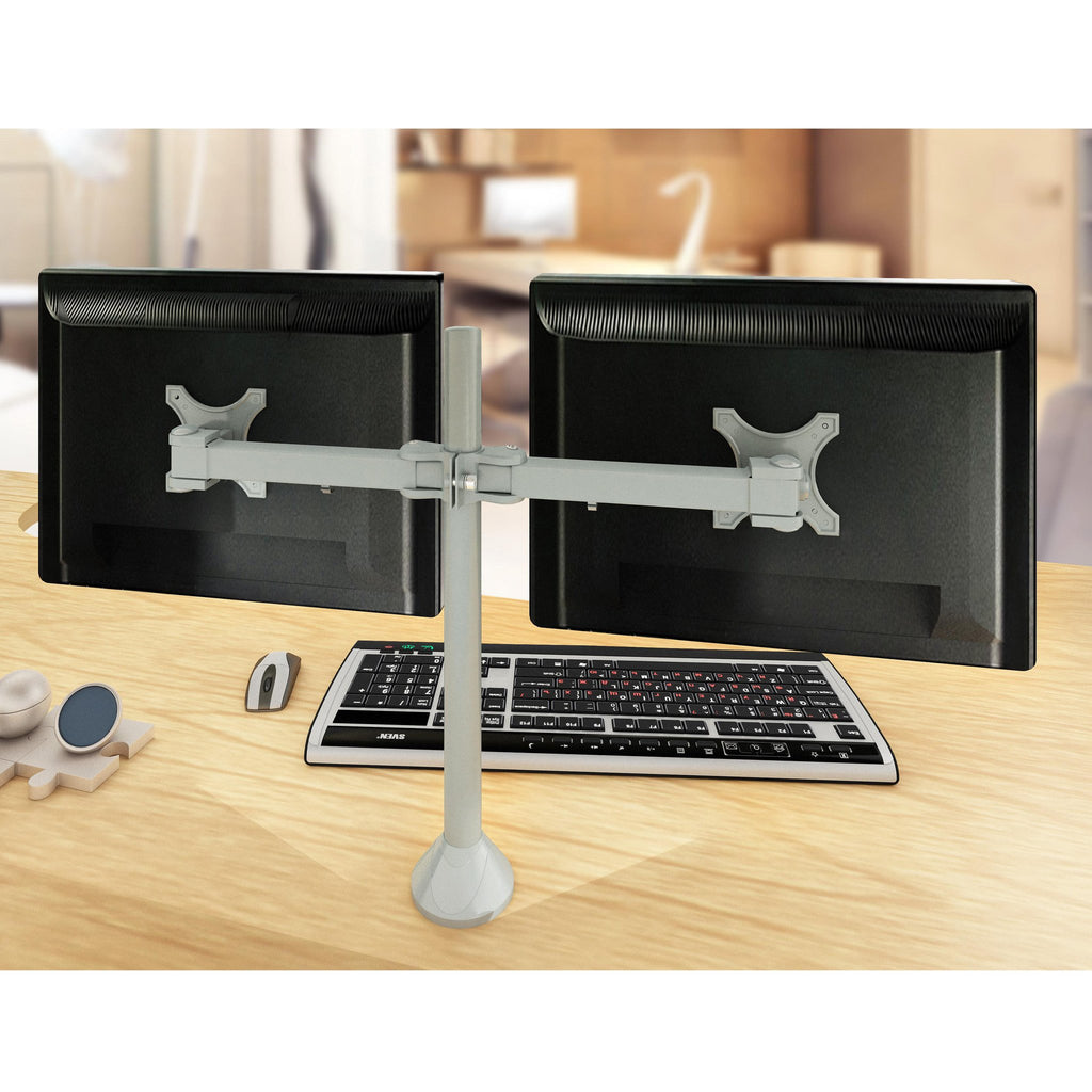Dual Monitor Stand - Fix Type & Horizontal (2MS-FTH)  - 1