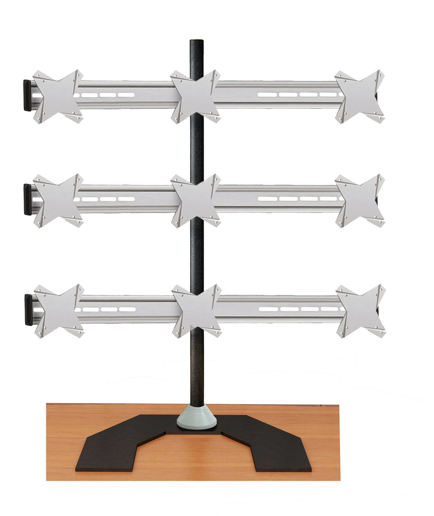 Nine Monitor Stand - Freestanding (9MS-F)