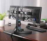 Premium Dual Monitor Stand -  Freestanding (2MS-FHW)  - 17