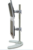 Dual Monitor Stand - Freestanding & Vertical (2MS-FV)  - 3