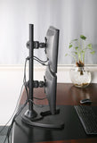 Dual Monitor Stand - Freestanding & Vertical (2MS-FV)  - 8