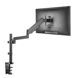 Adjustable LCD Monitor Gas Arm LMS-PMS-B (Black)