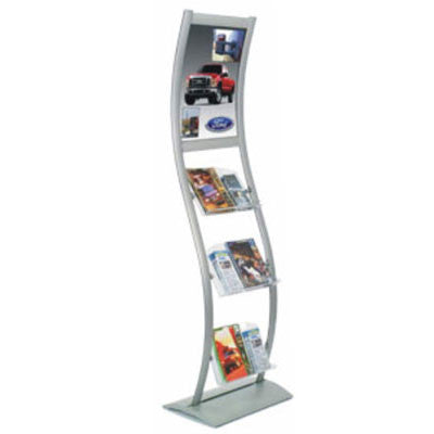 Literature Stand with poster frame LS-P02