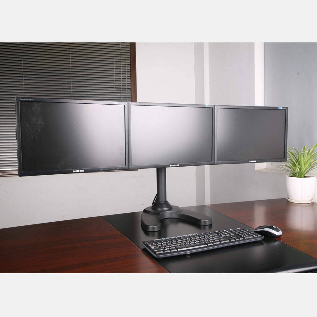 Triple Monitor stand Freestanding (3MS-FH)  - 1