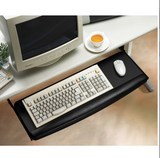 "Premium Extra Wide 28"" Pull-out Keyboard tray with Wrist Rest R46  - 3"