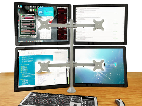 Four Monitor Stand - Fix Type (4MS-FT)