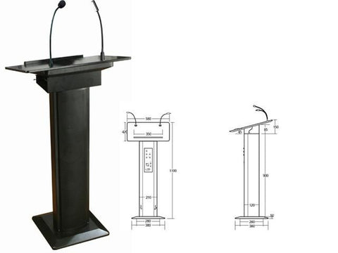 Podiums for offices and schools