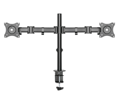 Full Motion Dual Arm Desk Monitor Mount Stand RC2
