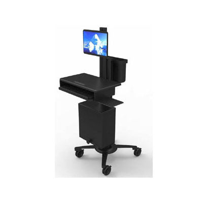 Single Monitor Cart