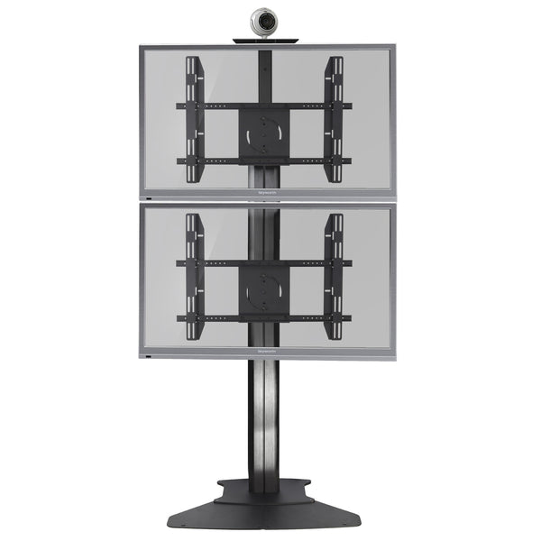 Dual Lcd Tv Floor Stand Rkd B Display Stands India