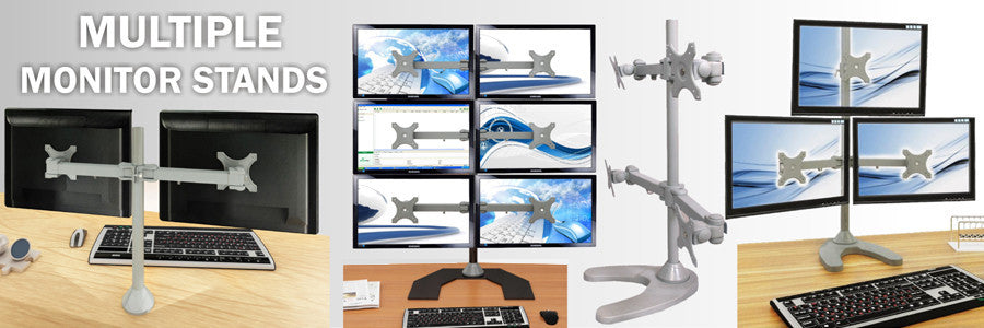 LCD Multiple Monitor Stands