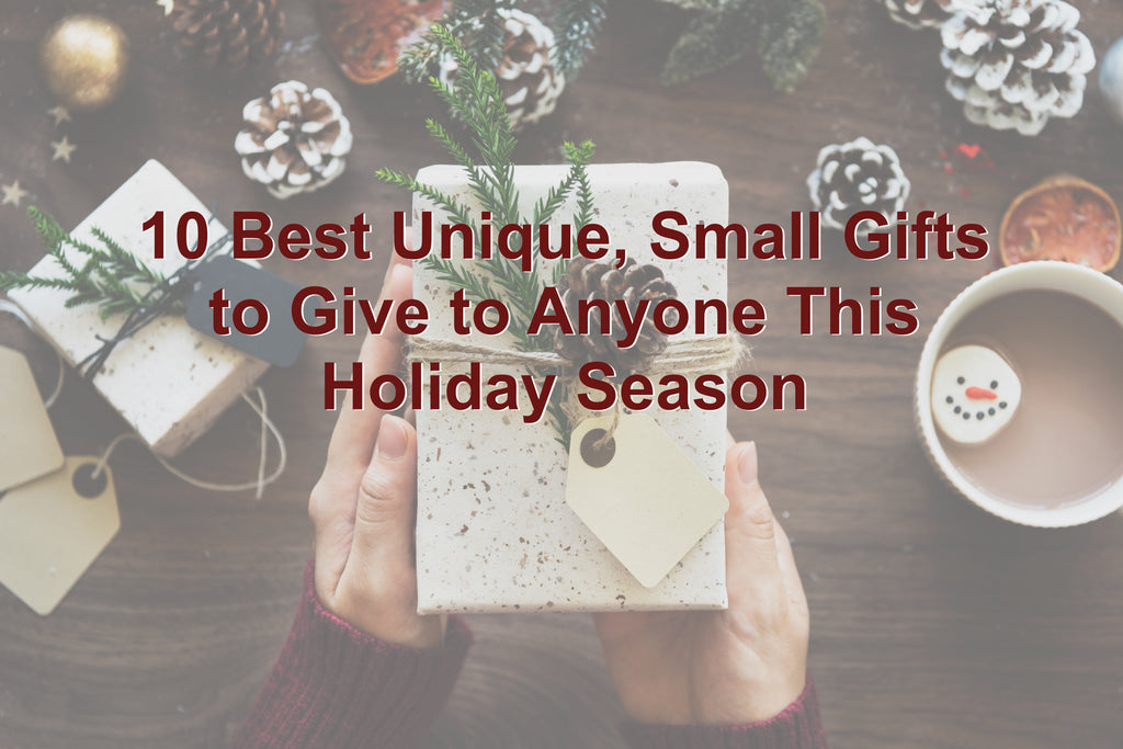 10 Best Unique, Small Gifts to Give During The Holidays