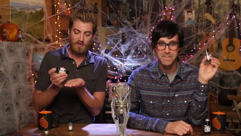 gmm; good mythical morning; rhett and link; rhettandlink; beard; beard oil; lip balm; beardandlady; beard and lady;