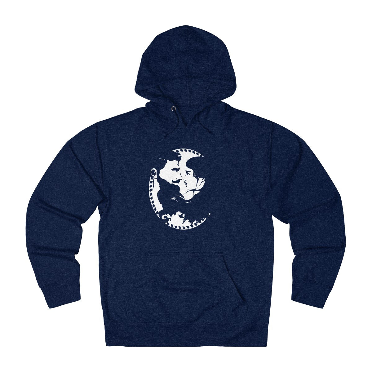 Unisex French Terry Hoodie - Beard and Lady