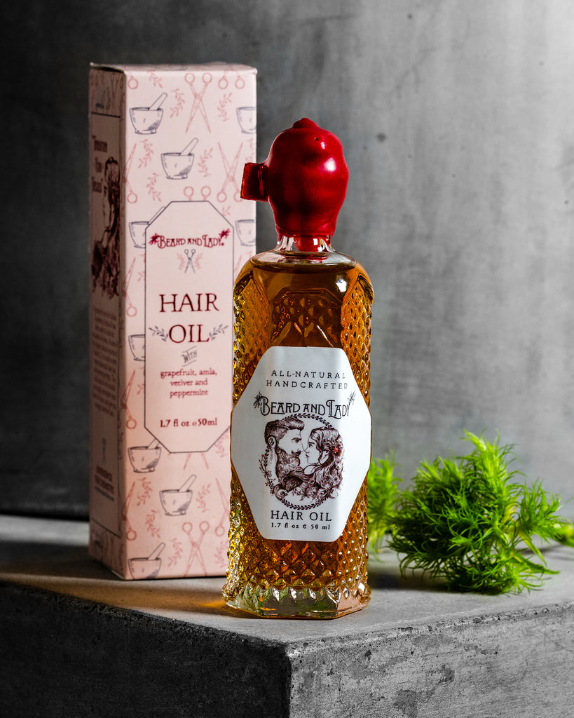 Beard and Lady Hair Oil