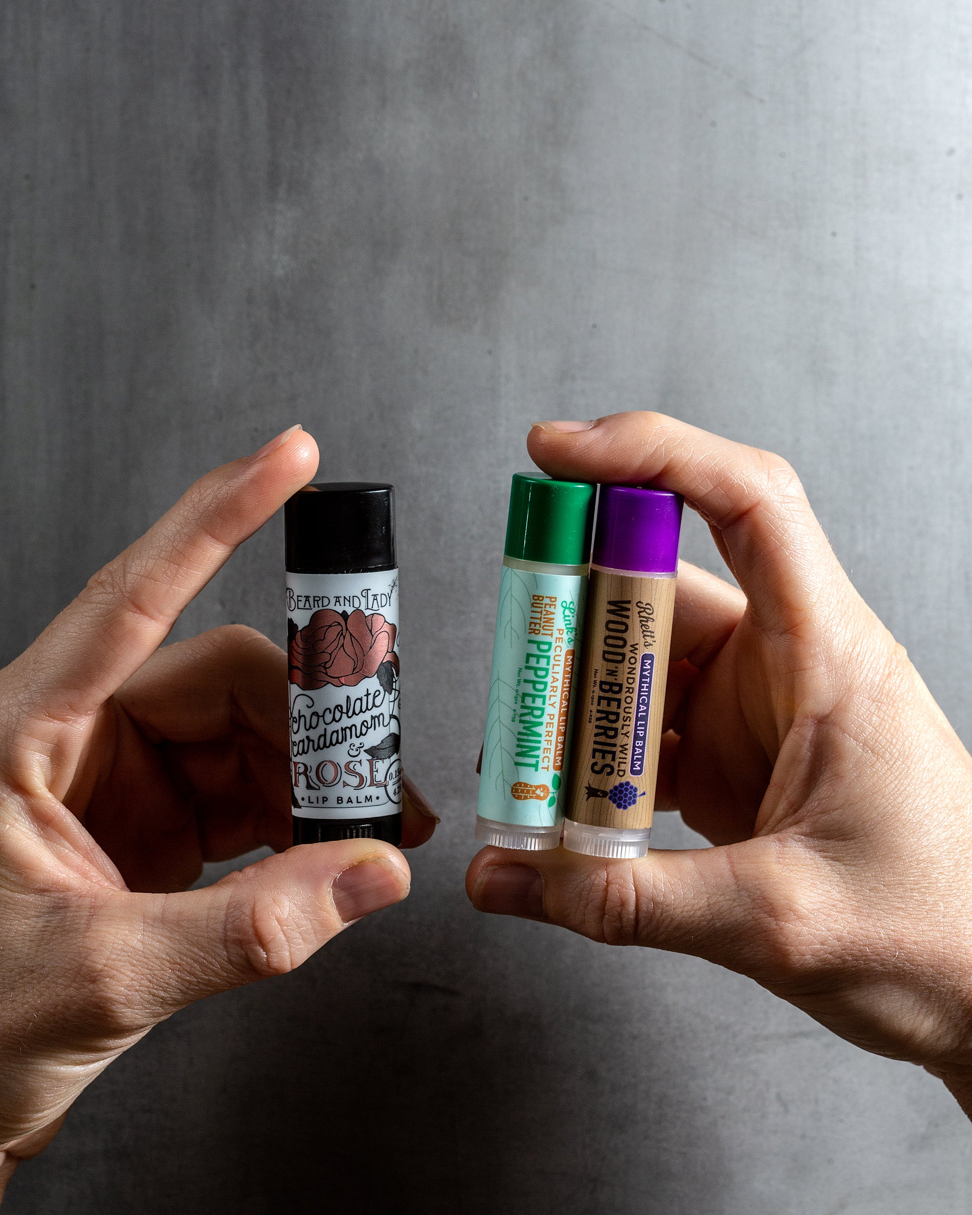 Lip Balm Flavor Combo - 3 pack - Beard and Lady