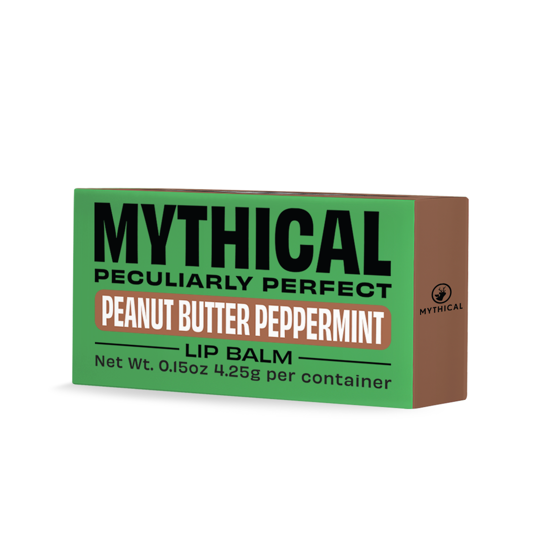 Mythical Peanut Butter Peppermint Lip Balm 2 pk