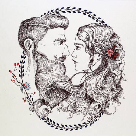 Beard and Lady