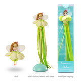 Chloe - Doll, Ribbon Wand and Stand