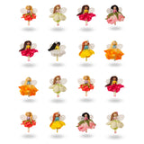 16 Assorted Fairies