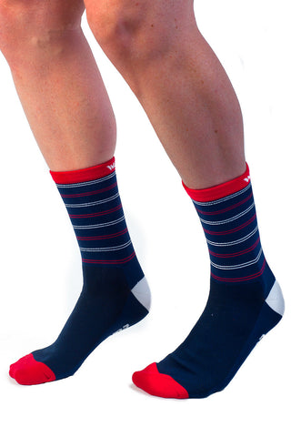 La Corsa Socks Red/Navy