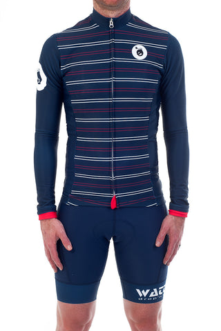 La Corsa LS Jersey Red/White