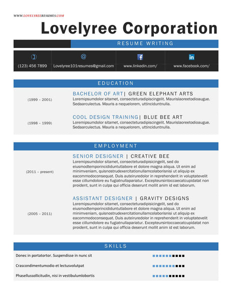 ... Media Executive Resume – Lovelyree's Resumes & Writing Services