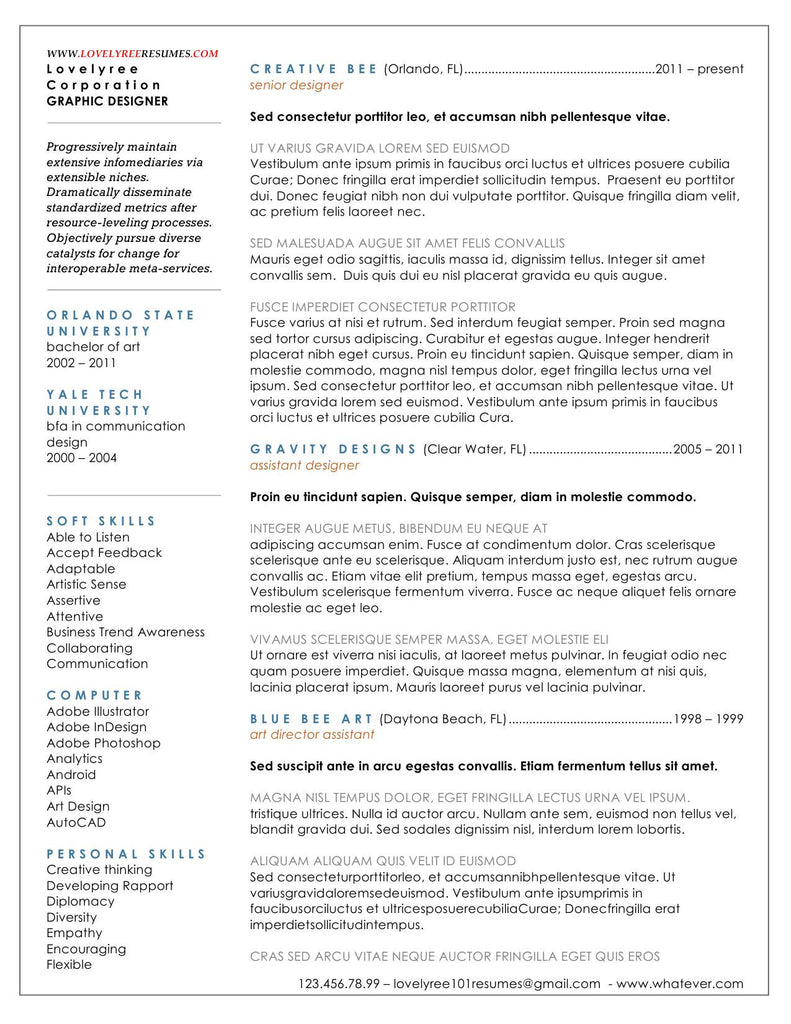 classic executive firm resume lovelyree s resumes