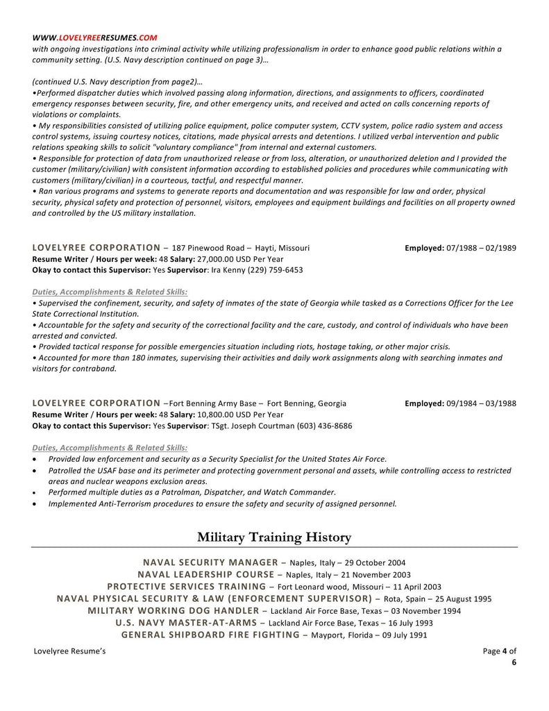 Industrial Security Specialist Sample Resume Industrial Security Specialist  Sample Resume INPIEQ  Physical Security Specialist Resume