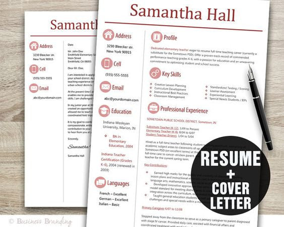 CLASSIC Basic Resume Update & Cover Letter Combo