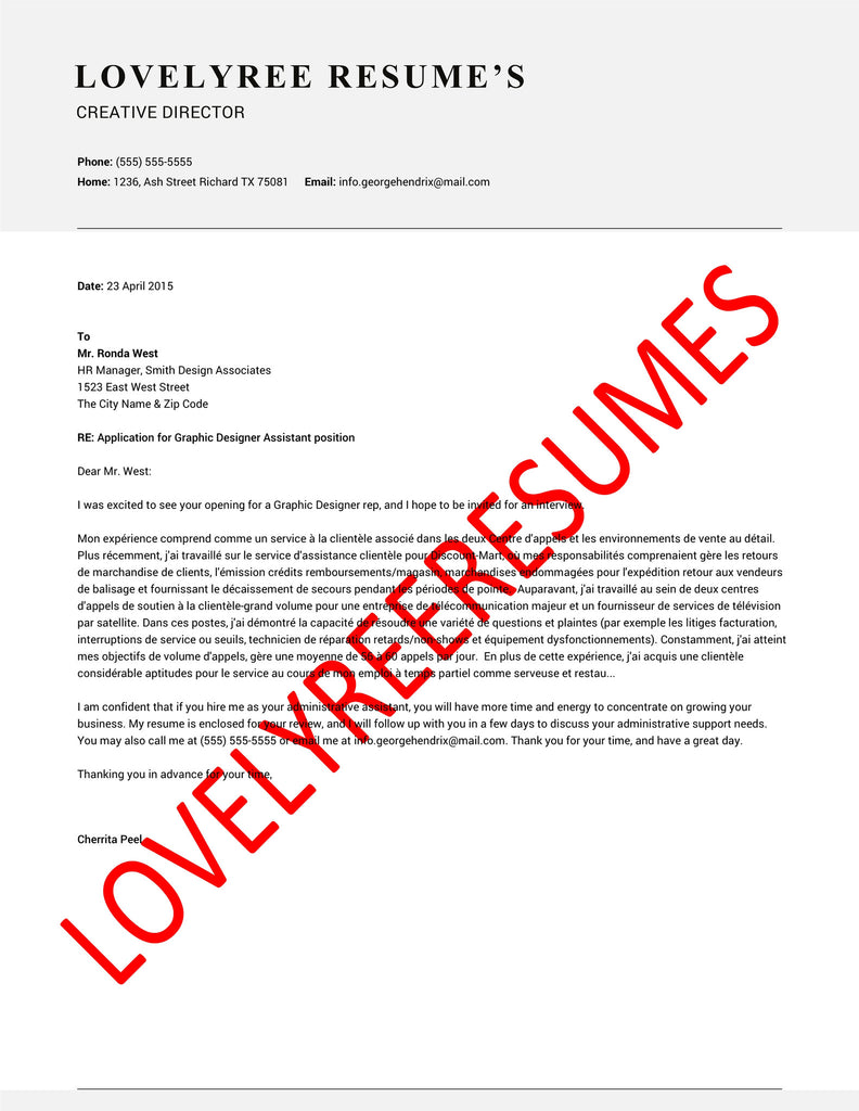 Creative Marketing Director Cover Letter medical sales sample resume ...